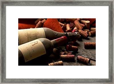 Wine Tasting Framed Print by Cole Black