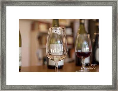 Wine Tasting Framed Print by Patricia Hofmeester