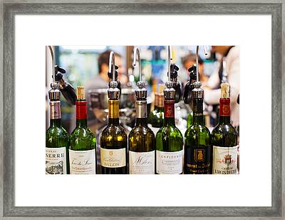 Wine Tasting, Saint-emilion, Gironde Framed Print by Panoramic Images