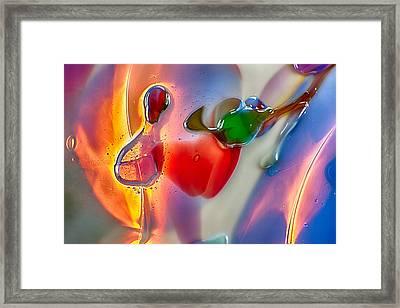 Winged Beauty Framed Print by Omaste Witkowski