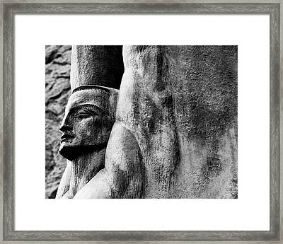 Winged Figure Of The Republic Framed Print by Alex Snay