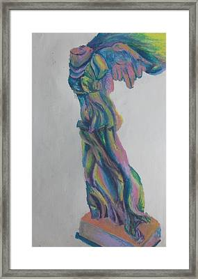 Winged Victory Framed Print by Cherie Sexsmith
