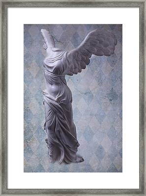 Winged Victory Framed Print by Garry Gay