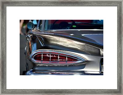 Winging It Framed Print by Dean Ferreira