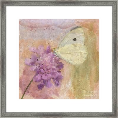 Wings Of Beauty Framed Print by Betty LaRue