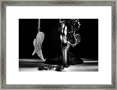 Wings Of Desire II Framed Print by Marco Oliveira