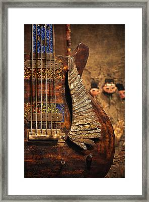 Wings Of Legend Framed Print by Maria Angelica Maira
