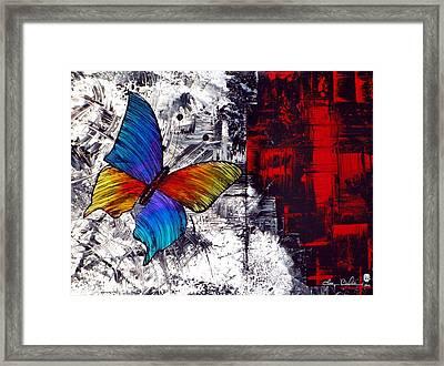 Wings Framed Print by Tara Baden
