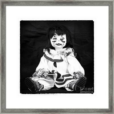 Wink Framed Print by John Rizzuto