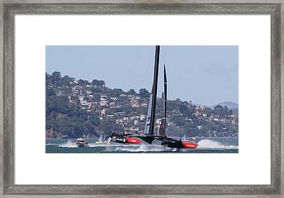 Winner Oracle Framed Print by Steven Lapkin
