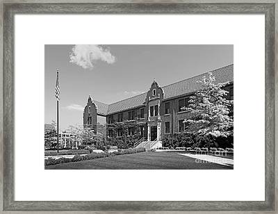 Winona State University Phelps Hall Framed Print by University Icons