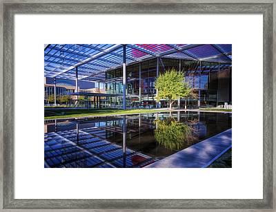 Winspear Opera House Framed Print by Joan Carroll