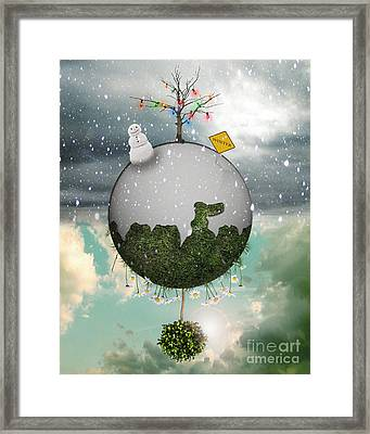 Winter Around The World Framed Print by Juli Scalzi