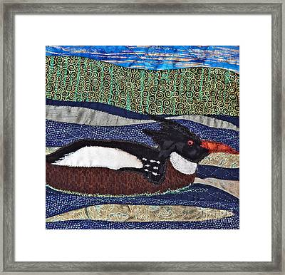 Winter Bird Framed Print by Susan Macomson