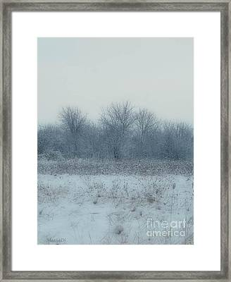 Winter Blues Framed Print by Marija Djedovic