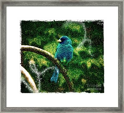 Winter Bunting Framed Print by Laura Brightwood