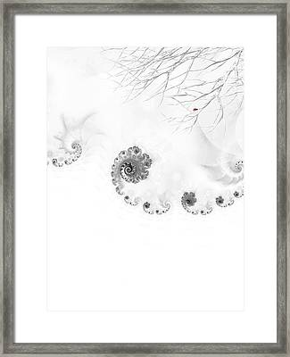 Winter Calls 2 Framed Print by Sharon Lisa Clarke