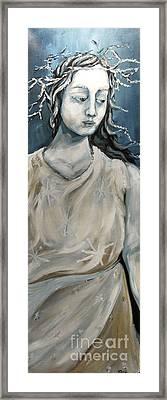 Winter Framed Print by Carrie Joy Byrnes