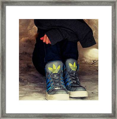Winter Chill Framed Print by Lucky Bro's