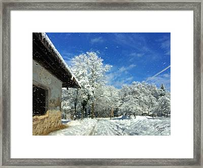 Winter Day Framed Print by Renata Vogl