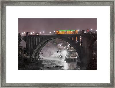 Winter Fog Framed Print by Michael Gass