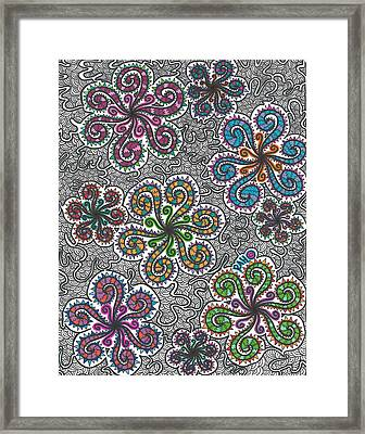Winter Funderland Framed Print by Ryan Ashley Hornbuckle