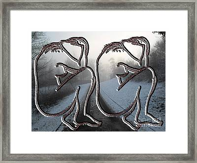 Winter In My Heart Framed Print by Patrick J Murphy