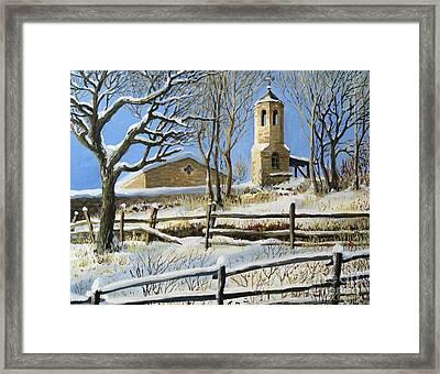Winter In Stoykite Framed Print by Kiril Stanchev