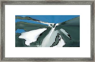 Winter In The Mountains Framed Print by Ben and Raisa Gertsberg