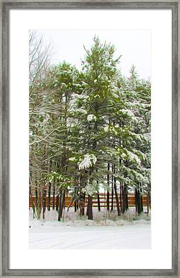 Winter Landscapes Framed Print by Lanjee Chee