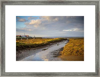 Framed Print featuring the photograph Winter Lights by Thierry Bouriat