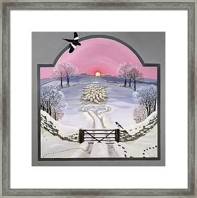 Winter Framed Print by Maggie Rowe