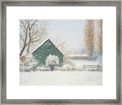 Winter Magic Framed Print by Lucie Bilodeau