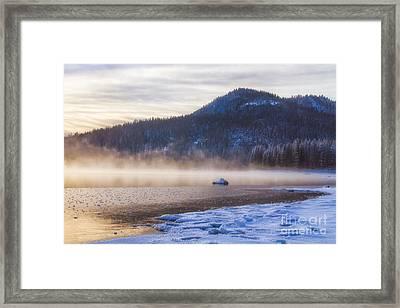Winter Mist Framed Print by Anthony Bonafede