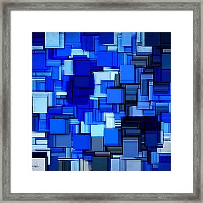 Winter Modern Abstract Xix Framed Print by Lourry Legarde