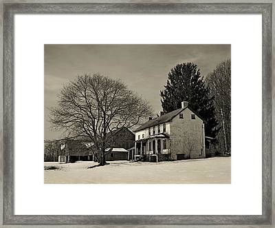Winter Moods Framed Print by Gordon Beck