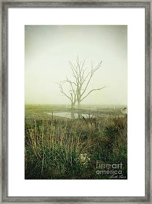 Winter Morning Londrigan 1 Framed Print by Linda Lees