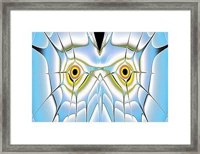 Winter Owl Framed Print by Anastasiya Malakhova