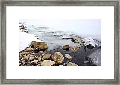 Winter Quabbin Framed Print by Randi Shenkman