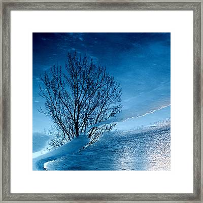 Winter Reflections Framed Print by Don Spenner