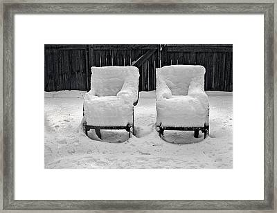 Winter Romance Framed Print by Christine Till