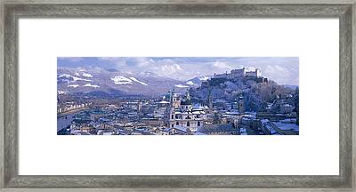 Winter, Salzburg, Austria Framed Print by Panoramic Images
