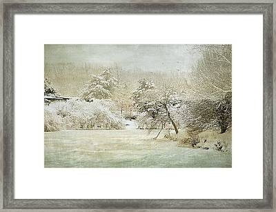 Winter Silence Framed Print by Julie Palencia