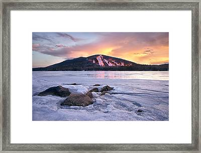 Winter Sky Framed Print by Darylann Leonard Photography
