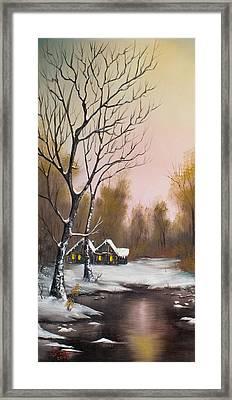 Winter Solace Framed Print by C Steele