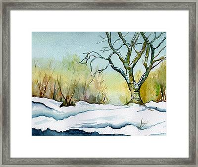 Winter Solitude Framed Print by Brenda Owen