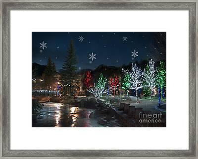 Winter Solstice 2014 Framed Print by Juli Scalzi