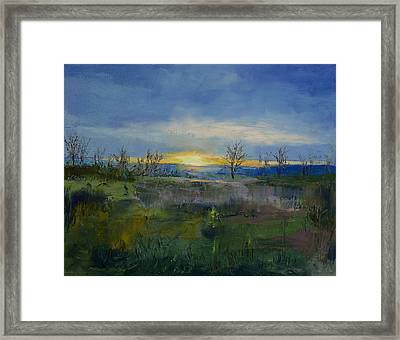 Winter Solstice Framed Print by Michael Creese