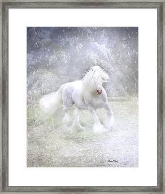Winter Spirit Framed Print by Fran J Scott