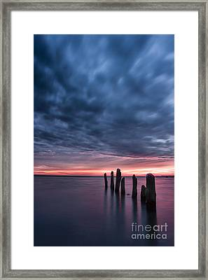 Winter Sunrise Framed Print by Matt  Trimble